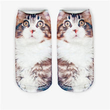 Load image into Gallery viewer, 2019 3D Printed Womans's Cat Socks