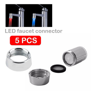 Free water faucet light