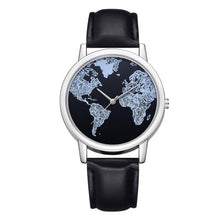 Load image into Gallery viewer, Vintage Wanderlust Map Watch