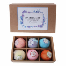 Load image into Gallery viewer, Organic Bath Bombs with Essential Oil Offer