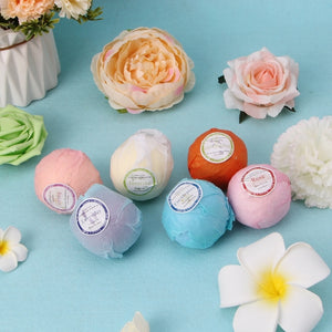Organic Bath Bombs with Essential Oil Offer