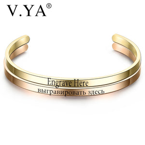 Customized Engraved Bracelet Offer