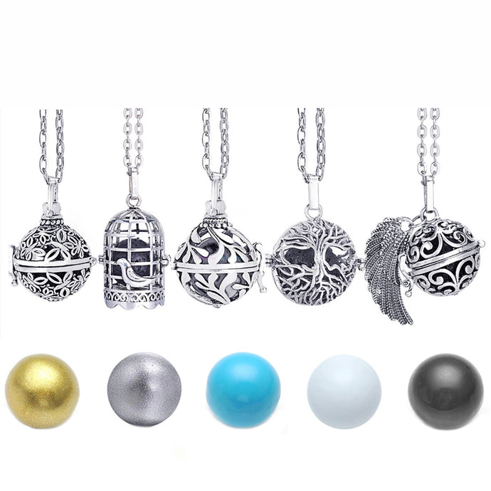 Mexico Chime Music Angel Ball Necklace Offer