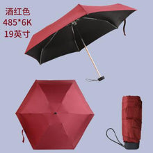 Load image into Gallery viewer, New Portabale Mini Umbrella