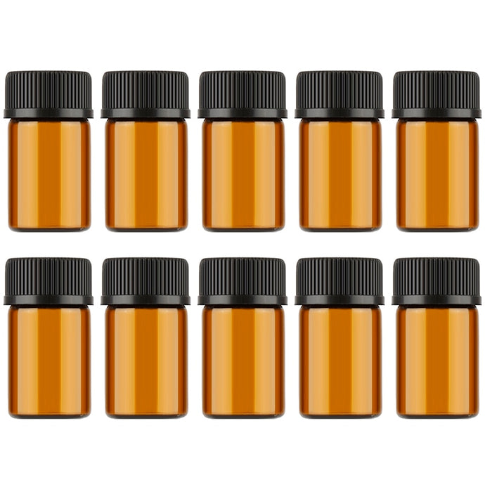 Mini Amber Glass for Essential Oil Offer