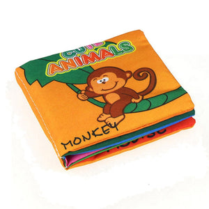 New Cloth Baby Book - Monkey Offer