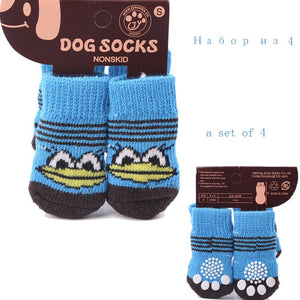 4Pcs Pet Dogs Socks Offer