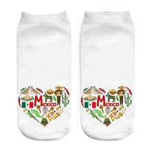 Load image into Gallery viewer, Mexico Love Print Socks Offer
