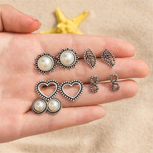 Load image into Gallery viewer, Bohemian Retro Stud Earrings Set of 4 Offer