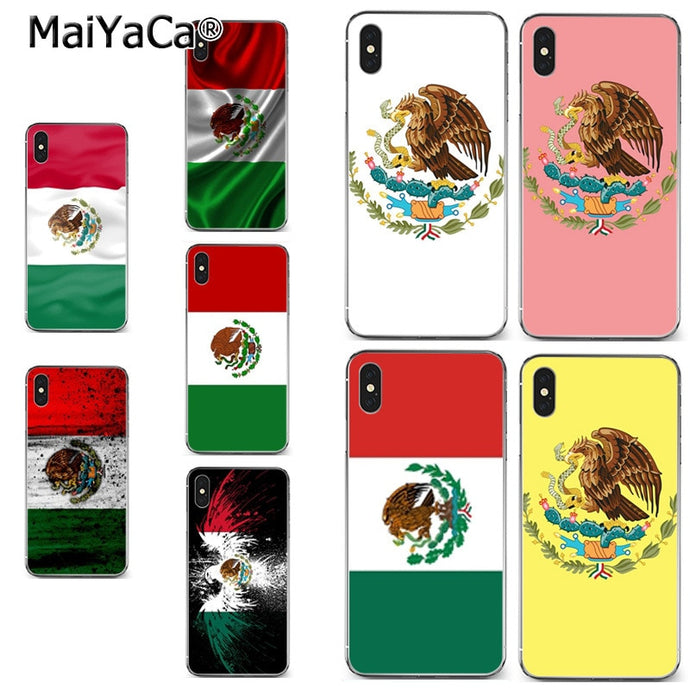 Mexican National Flag Emblem for iPhone Offer
