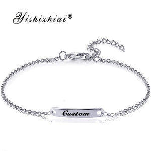 Custom Name ID Bar Bracelet Offer