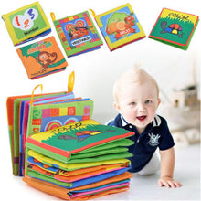 Load image into Gallery viewer, Plush Educational Baby Book Offer