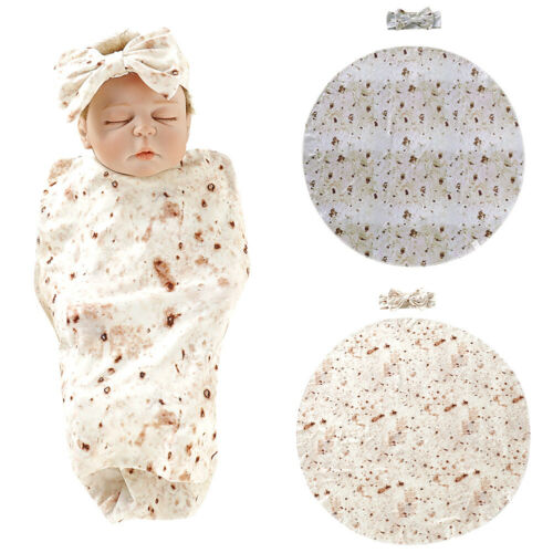 Mexican Burrito Swaddle Blanket Offer
