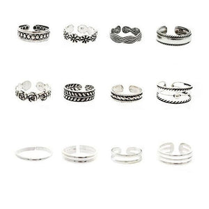 Vintage Foot Ring Set Offer