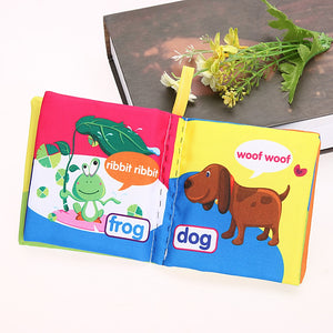 Colorful Soft Cloth Baby Book Offer