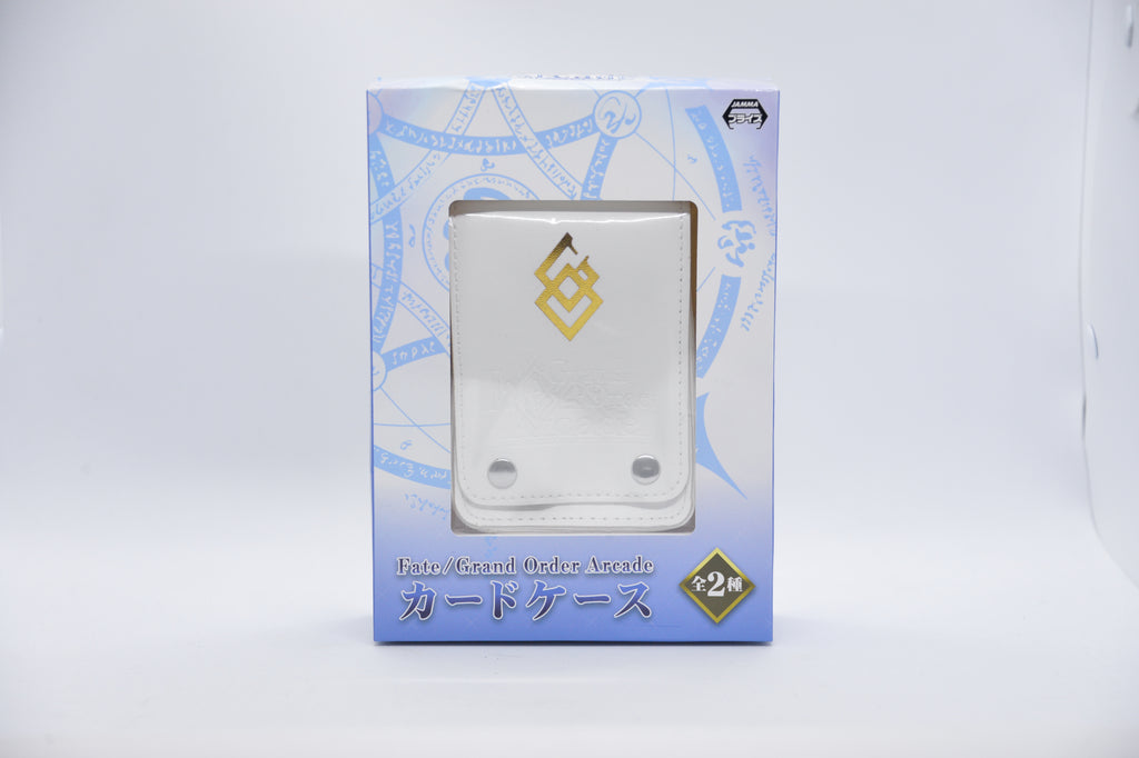 Small Fate Card Wallet White