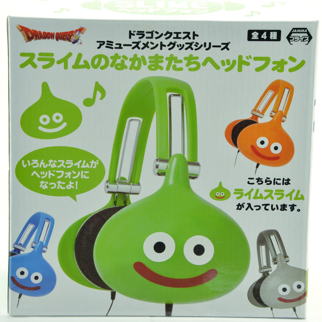 Jamma & Square Enix - Dragon Quest AM - Slime Friends Headphones Lime Green