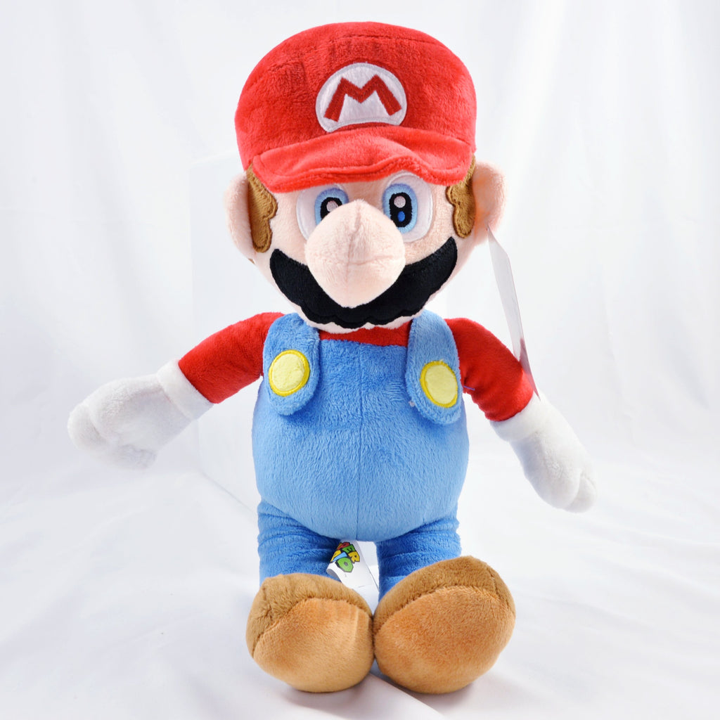 "Nintendo Official Super Mario Bros. - Mario Plush (15"")"