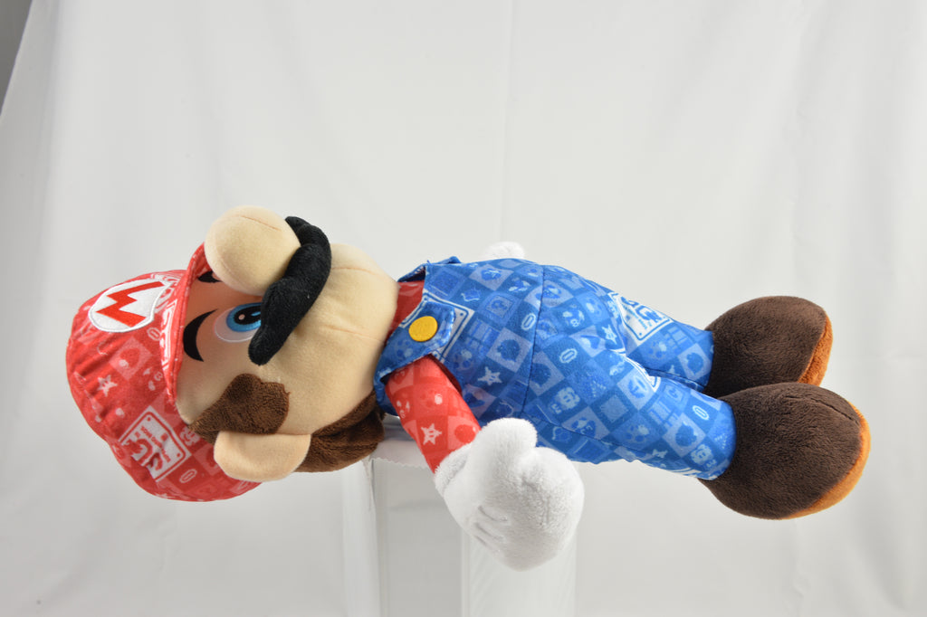 "Official Nintendo Super Mario Bros. - 30th Anniversary Mario Plush Limited Edition (19"")"