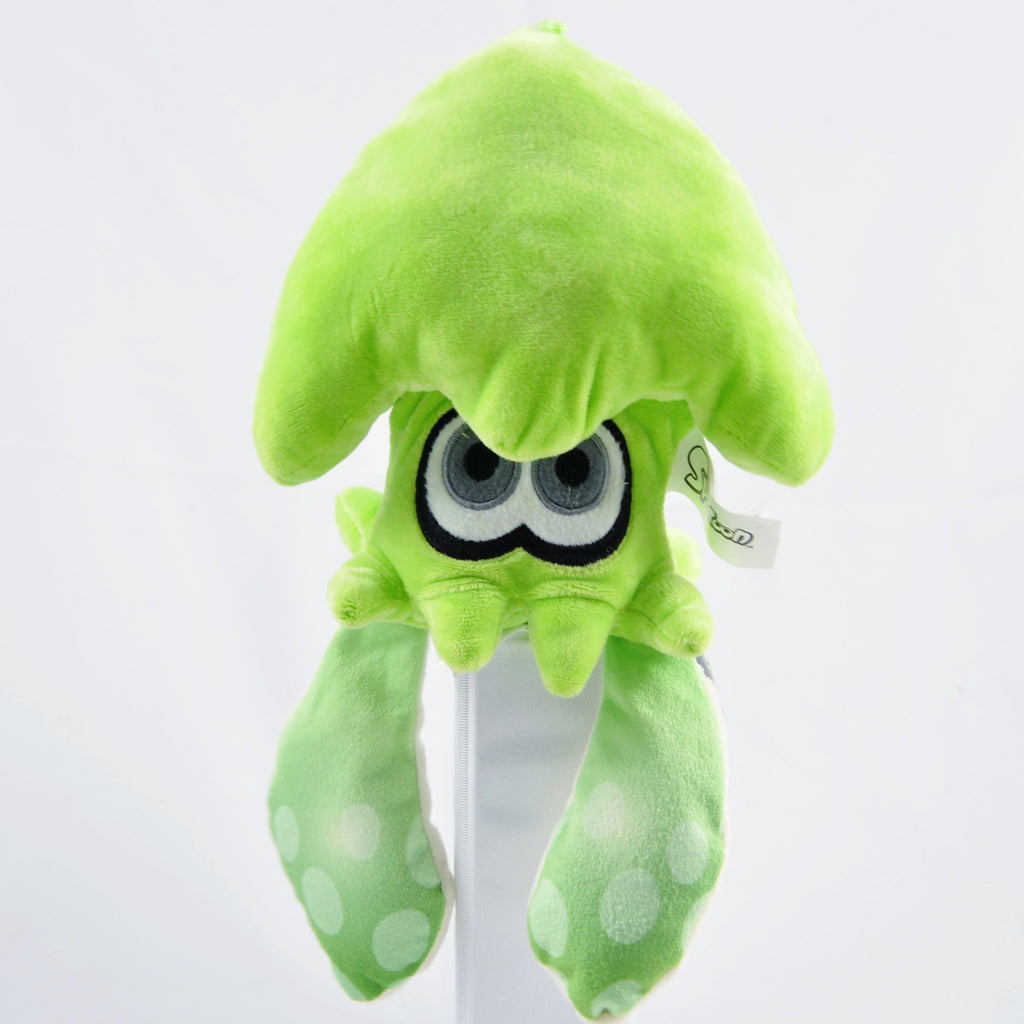 "Official Nintendo Splatoon - Green Squid Plush (12"")"