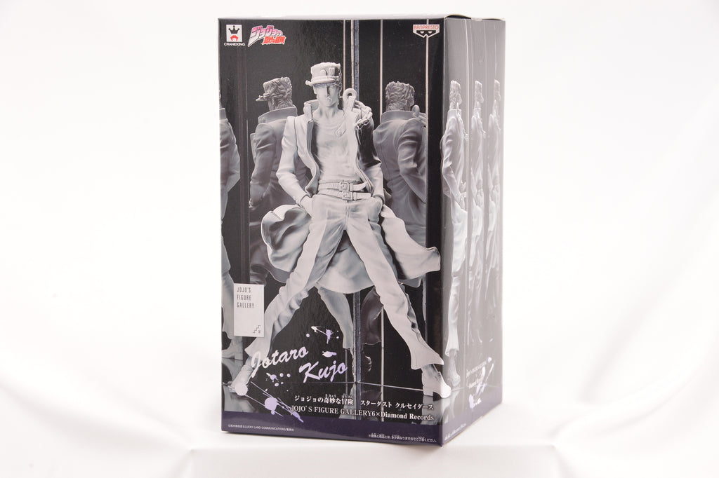Banpresto Jojo's Bizarre Adventure Stardust Crusaders Jojo's Figure Gallery 6 Diamond Records Jotaro Kujo Action Figure Plaster color