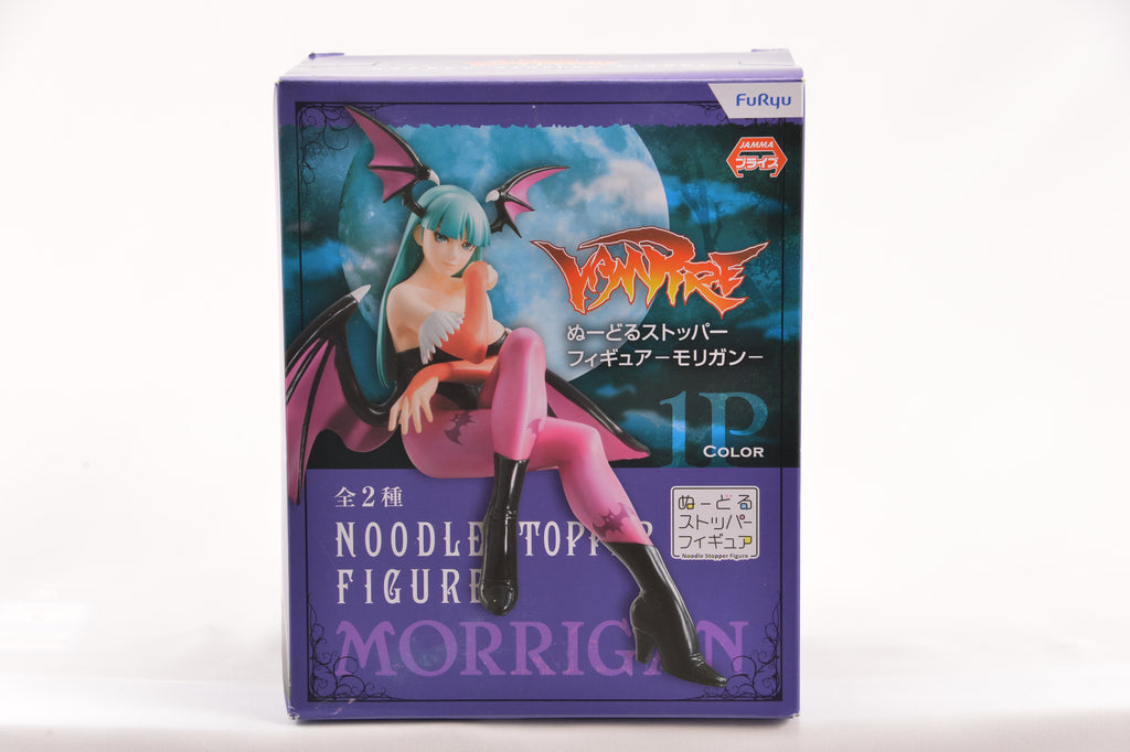 Darkstalkers Night Warriors Morrigan Aensland Noodle Stopper Figure 1P Color Ver. PVC