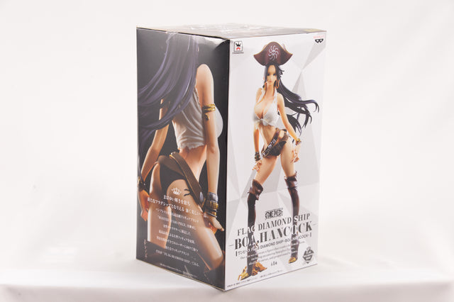 Banpresto One Piece Flag Diamond Ship Boa Hancock Action Figure
