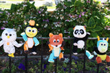 Set of 6 Storytale Forest Animoodles + Free Hero Cape + Free Shipping