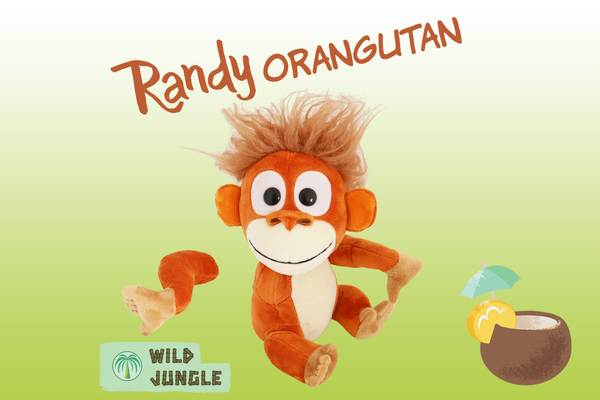 Randy Orangutan - Animoodles #1
