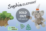 Sophie Elephant - Animoodles #6: 100% of profits to African Wildlife Foundation