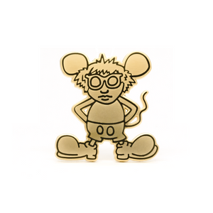 Andy Mouse (Museum Edition) enamel pin