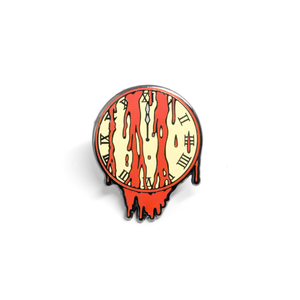 Doomsday Clock enamel pin