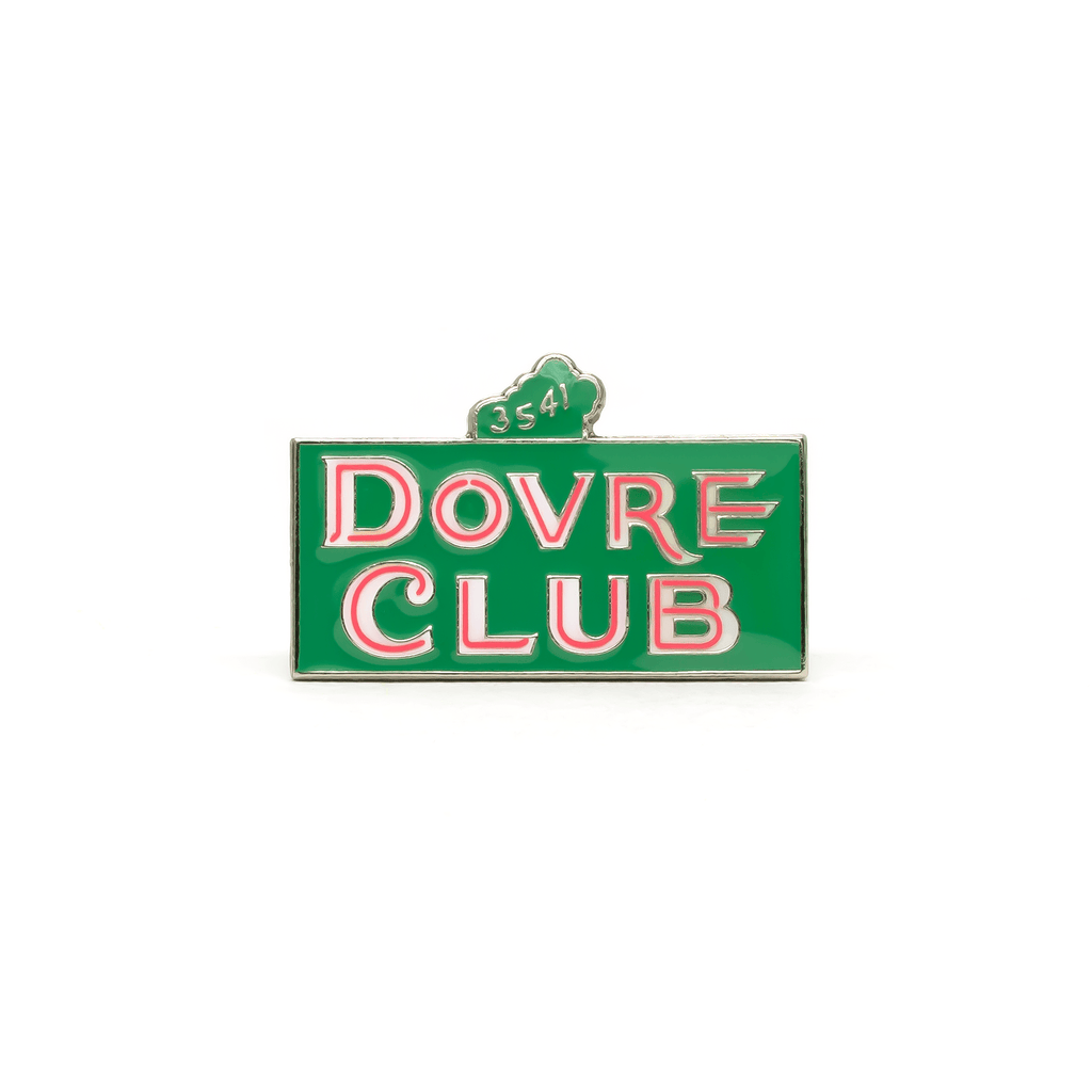 Dovre Club enamel pin