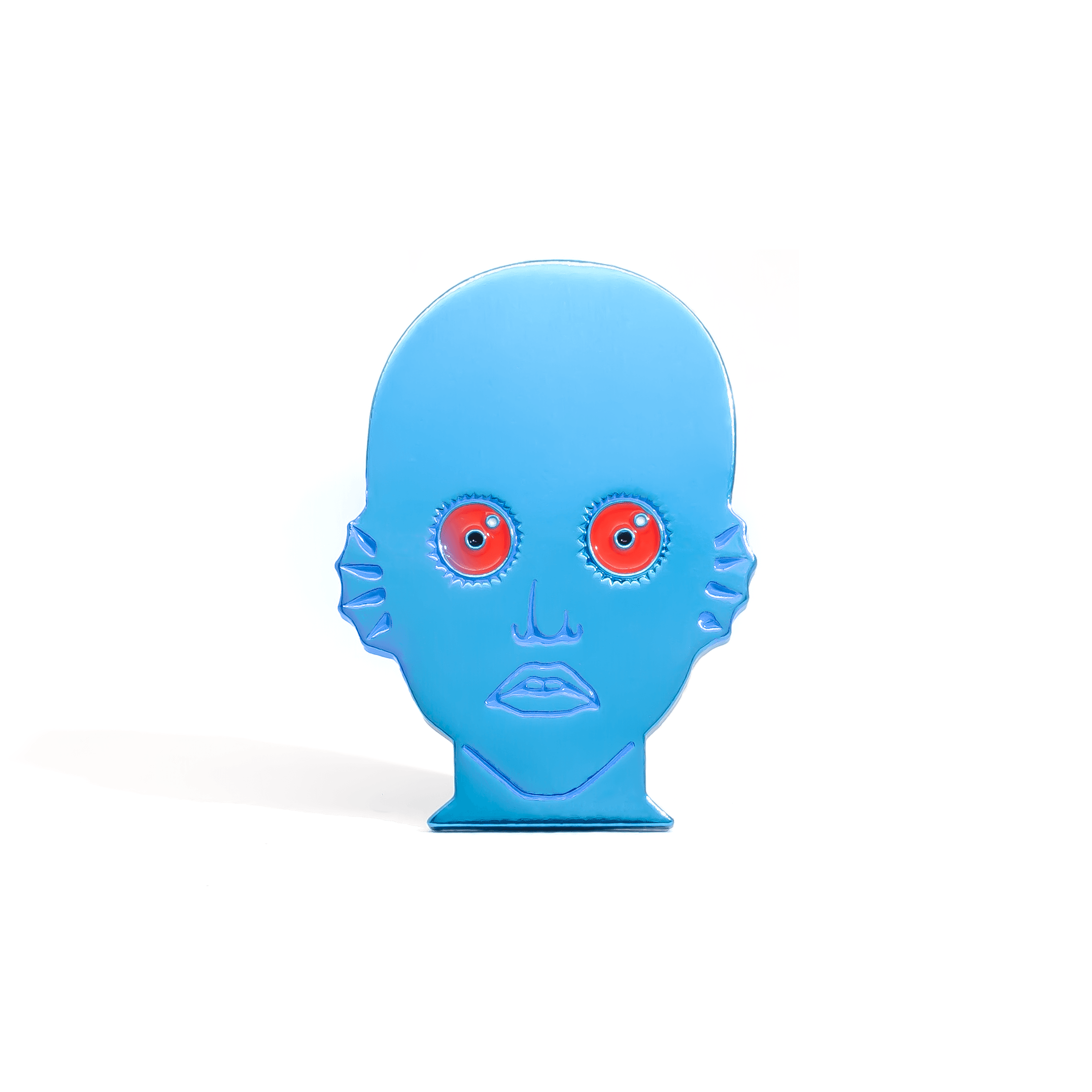 Anodized Edition Draag (Fantastic Planet) enamel pin