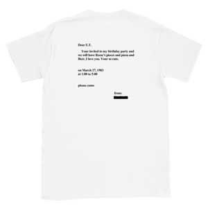 Letter to E.T. T-Shirt