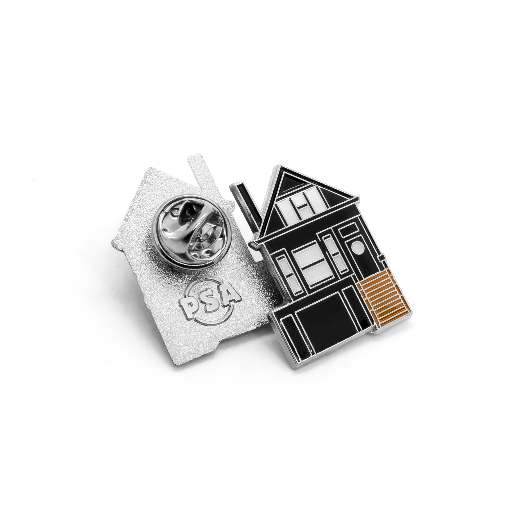The Black House enamel pin