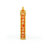 Fox Theater Oakland enamel pin
