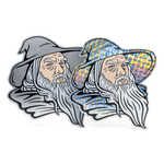 Gandalf prismatic/aluminum sticker set