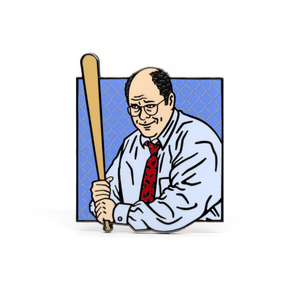 George Costanza enamel pin