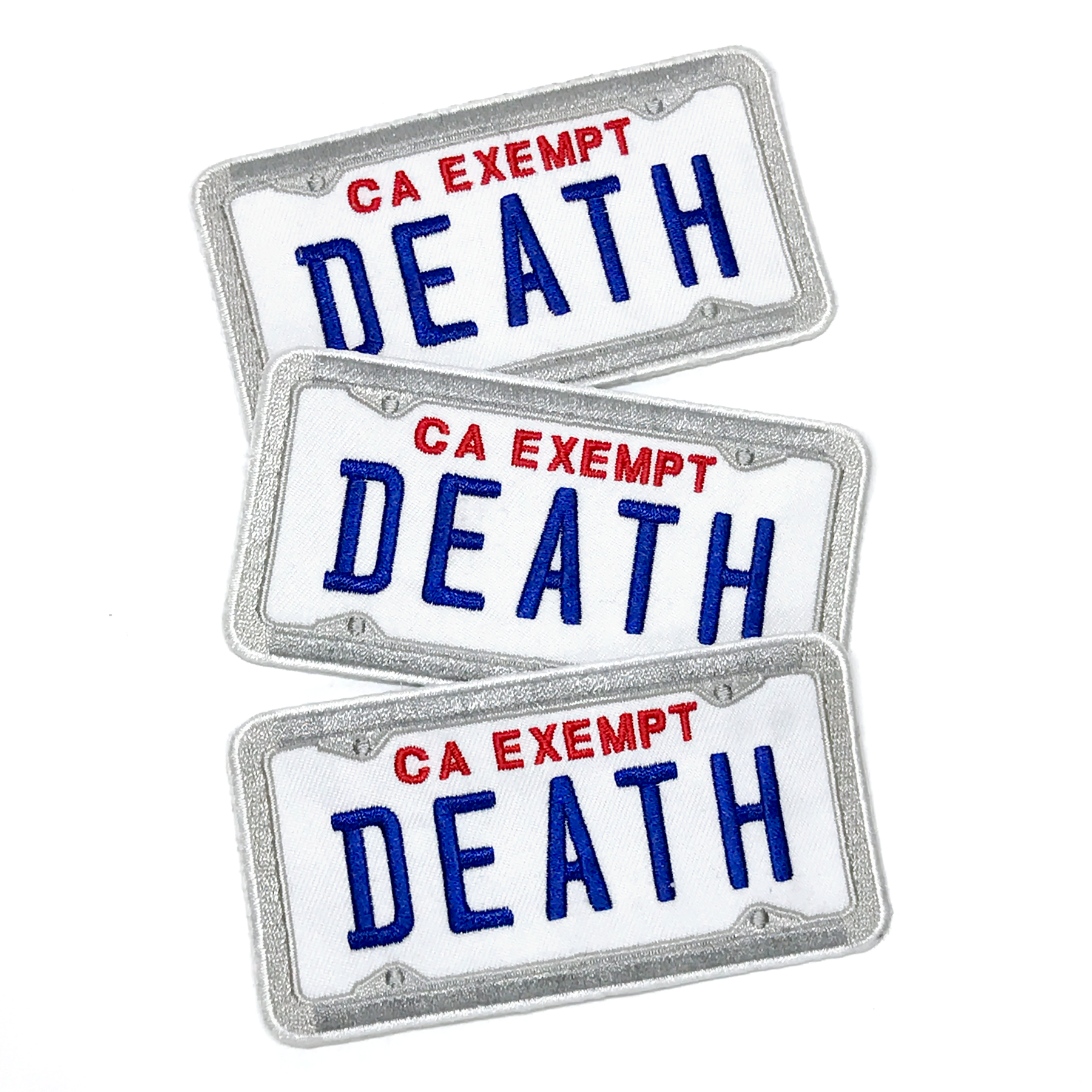 Government Plate patch