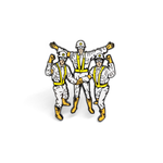 Intergalactic enamel pin