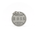 Boss (Isle of Dogs) engraved pin