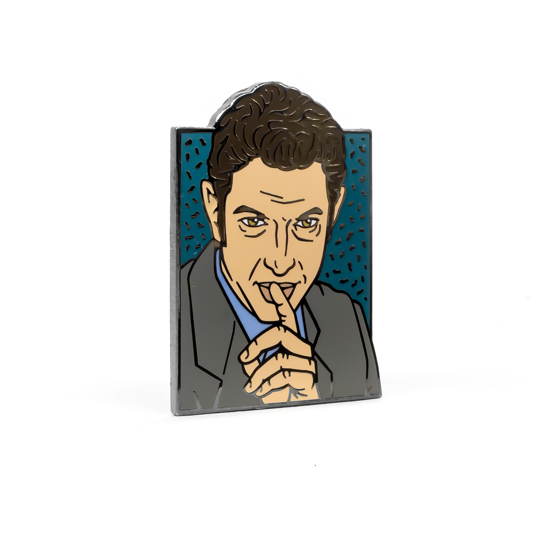 Jeff Goldblum enamel pin