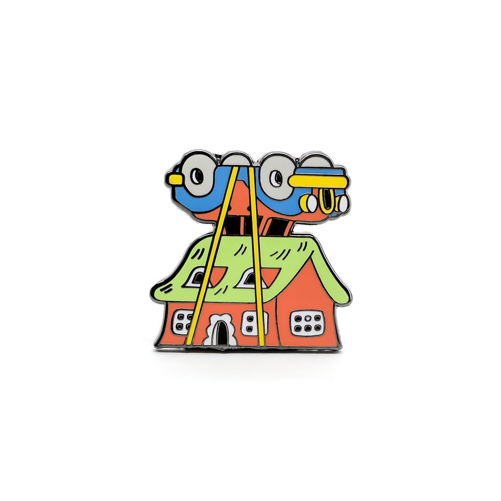 Kyle Platts enamel pin
