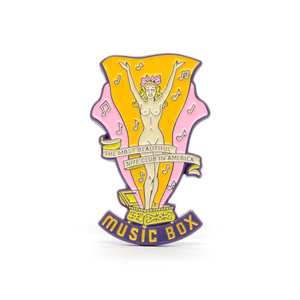 Why Not & Music Box enamel pin set