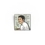 Myspace Tom enamel pin