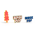 Noise Pop pin collection