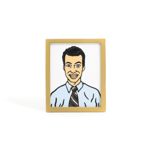 Employee of the Month enamel pin
