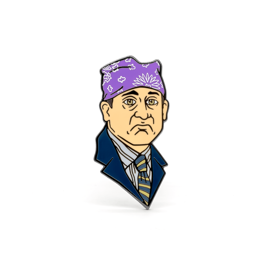 Prison Mike pin and bandana set