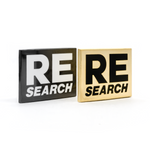 RE/Search enamel pin